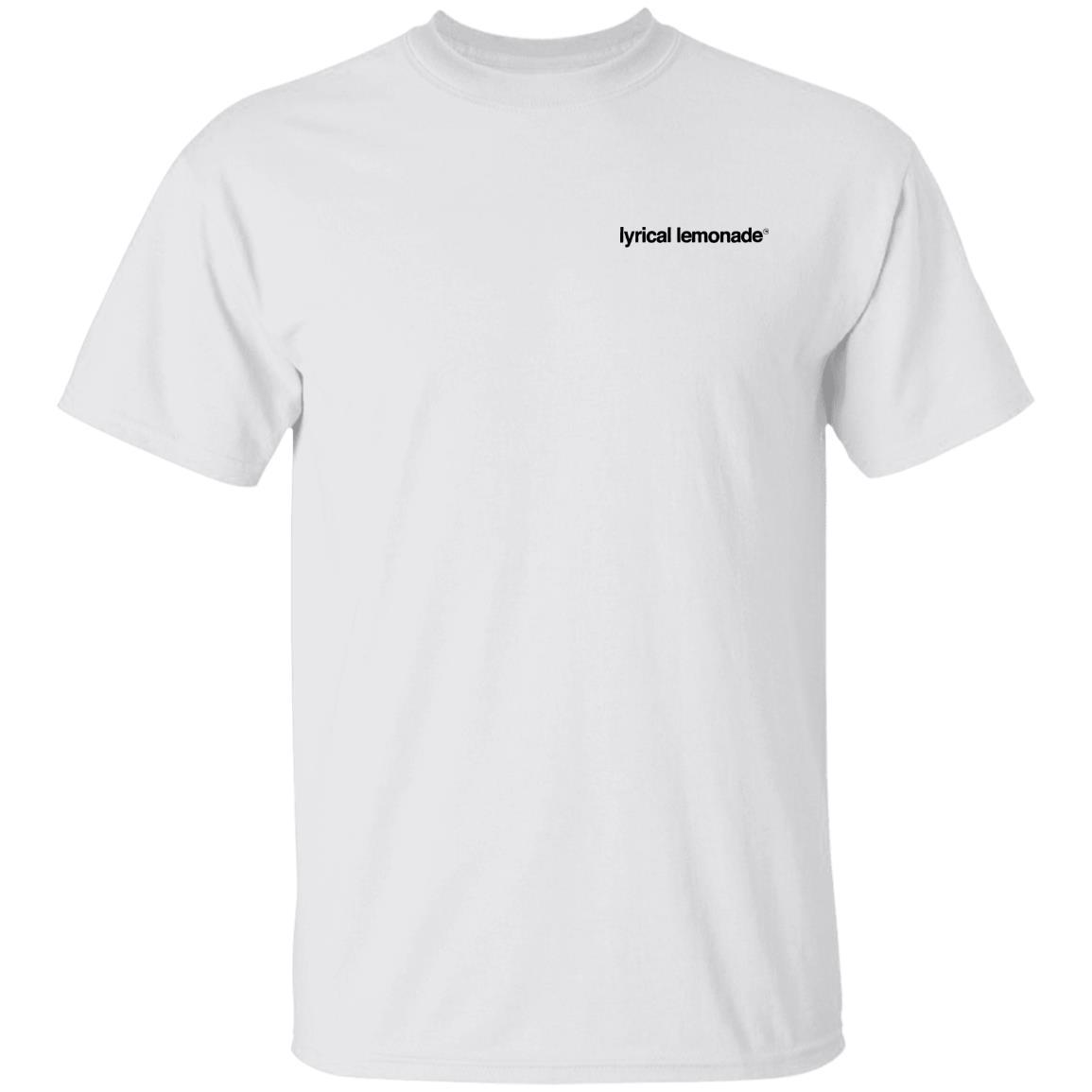 Lyrical Lemonade Hoodie The LL Productions Tee in White