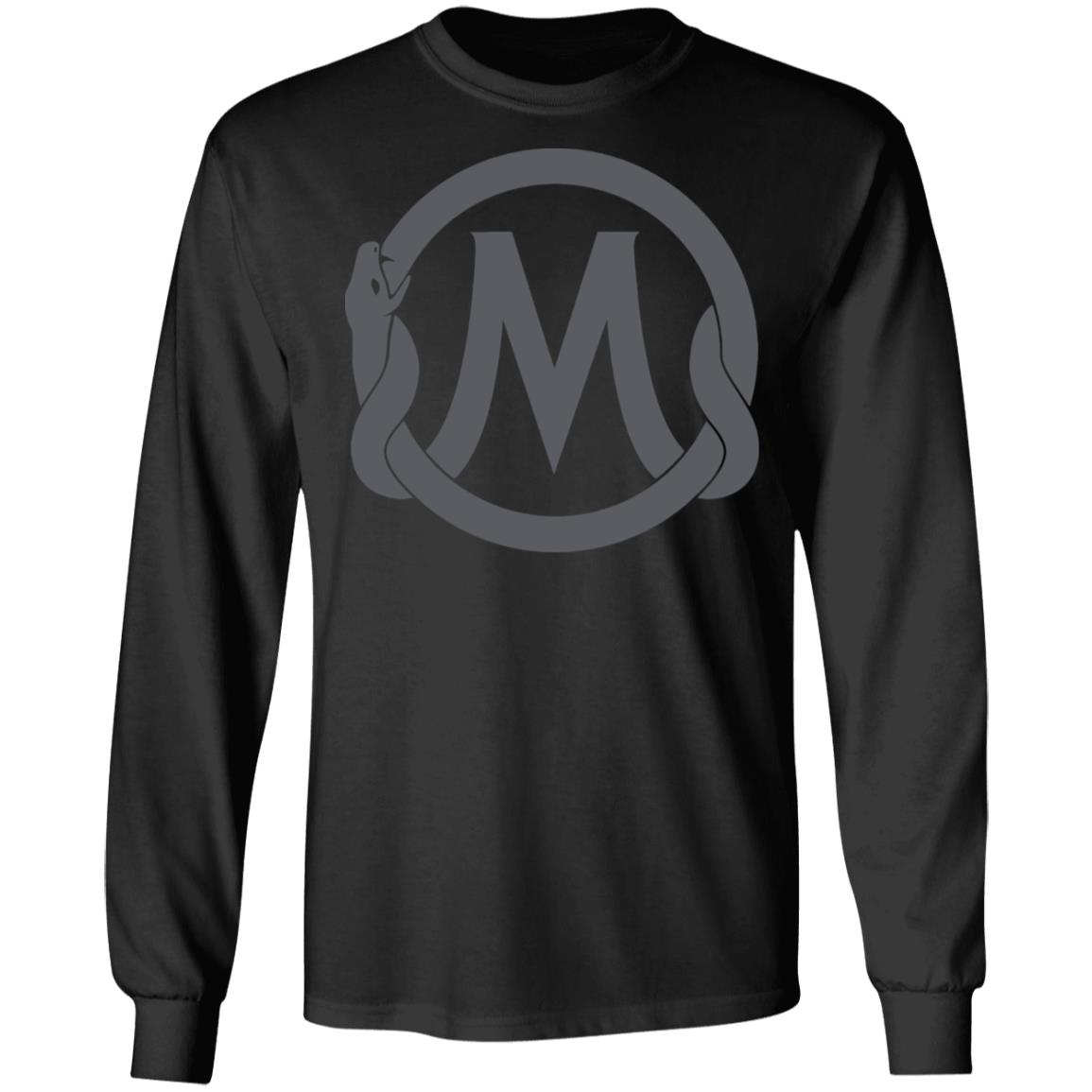 Mamba sports academy team core black long sleeve shirt